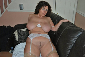 Magnificent older women tits