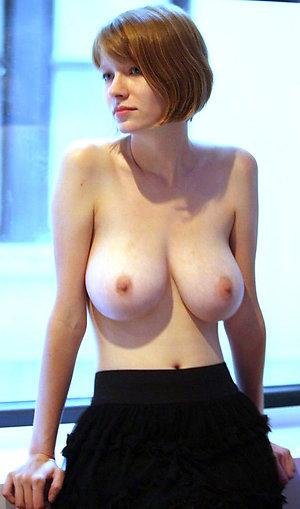Naughty redheaded old women nude