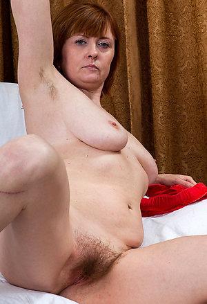 Porn pics of sexy redhead old milf