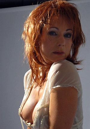 Wonderful naked mature redheads pics