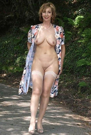 Real wife in stockings stripped