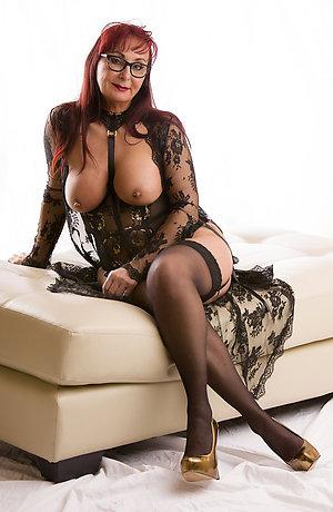 Real sexy women in black stockings xxx