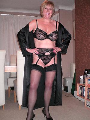 Nude sexy women in nylon stockings