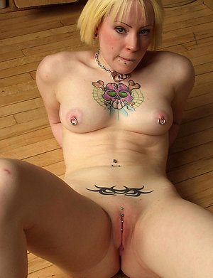 Cool hot mature tattooed women