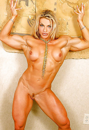 Perfect muscle mature women photos