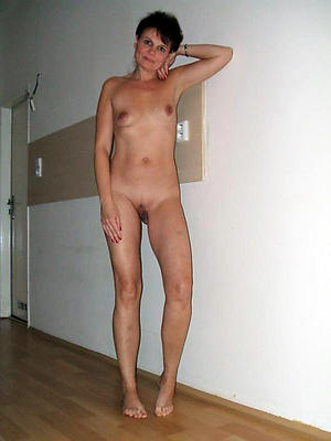 Naughty old women small tits