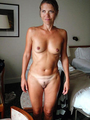 Amateur old women small tits