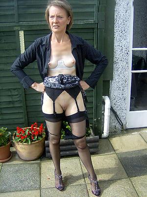 Bohemian amateur sexy women in stockings