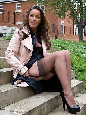 Horny women in stockings