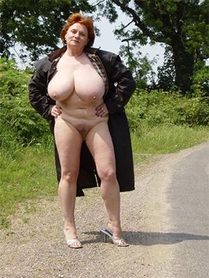 Pretty elder statesman women at hand big tits