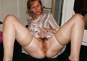 Simmering nude unshaved women