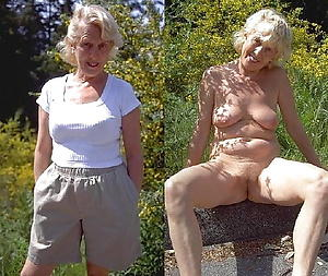 Hot wife before and after