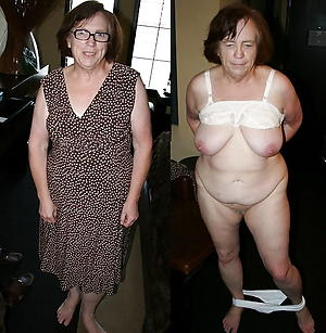 Naughty wife before and after