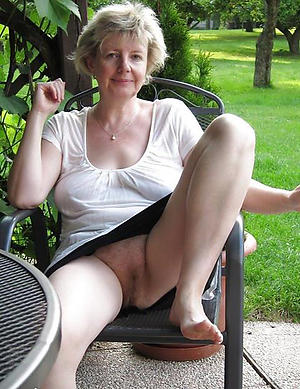 Naughty mature older woman