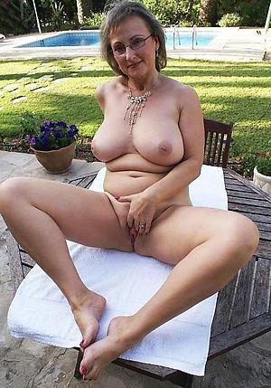 Gung-ho nude mature private pics