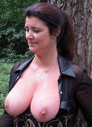 Amazing hot nude brunette older women pics