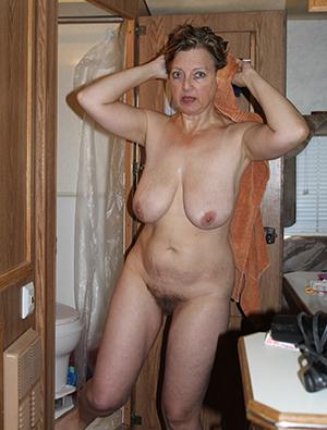 Beautiful natural naked hairy ladies