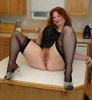 Whorish matures in stockings and heels