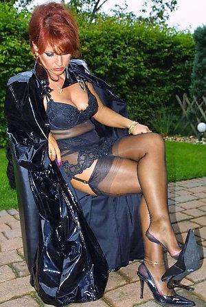 Best xxx naked older wife in heels