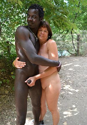 Gorgeous mature milf interracial