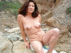 Stunning old asian tits
