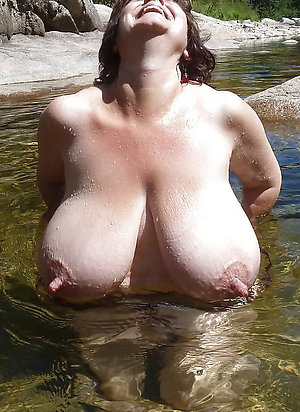 Homemade pics of old lady nipples photos