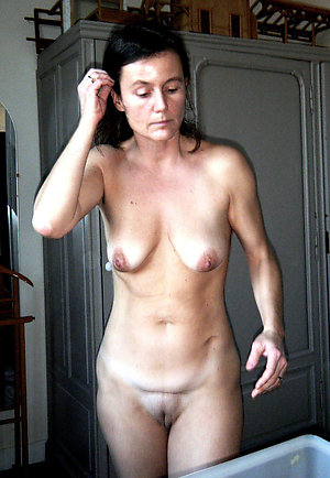 Wonderful saggy tit old wife pics