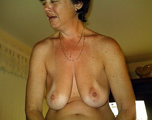 Naked saggy old lady tits pictures