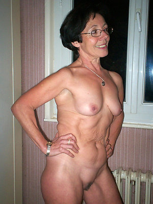 Nude pics of old women with small tits