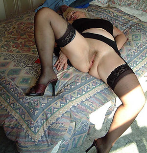 Nasty horny ladies in stockings