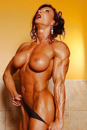 Busty muscle mature women pictures