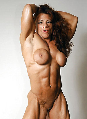 Wonderful muscle mature women pics