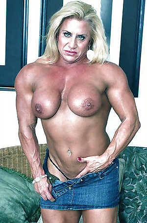 Fantastic muscle mature women