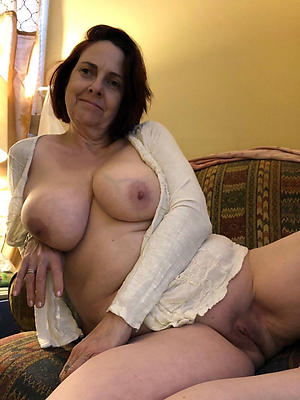 Inexperienced sexy of age housewife