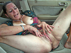 Amazing hot mature in motor free pics