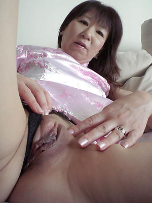 Amazing mature pussy rectify ups