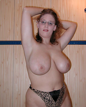 Best pics of busty dispirited mature