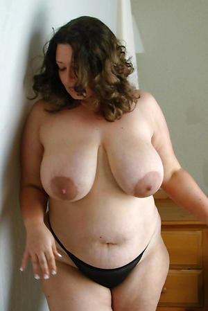 Sexy busty natural mature