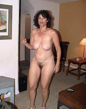 Inexperienced unshaved matured women