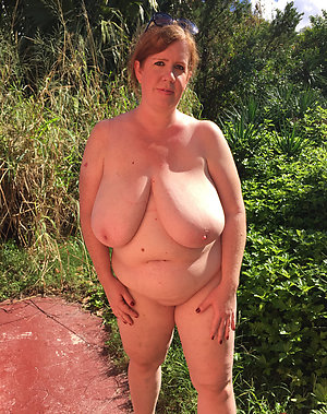 Sweet busty russian mature