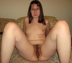 Handsome unshaved mature women