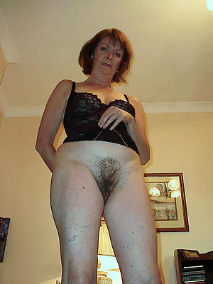 Mature women in the air hairy pussies