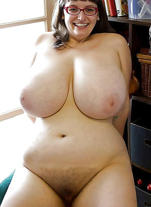 Naughty hot busty mature nude photo