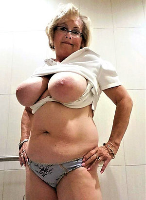 Sexy old chubby women homemade pics