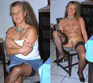 Amateur dressed and undressed matures photos