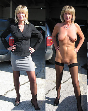 Mature Dressed Undressed Pics