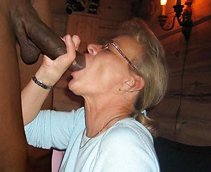 Horny mature women interracial