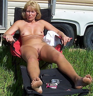 Nude older women with nice legs pics