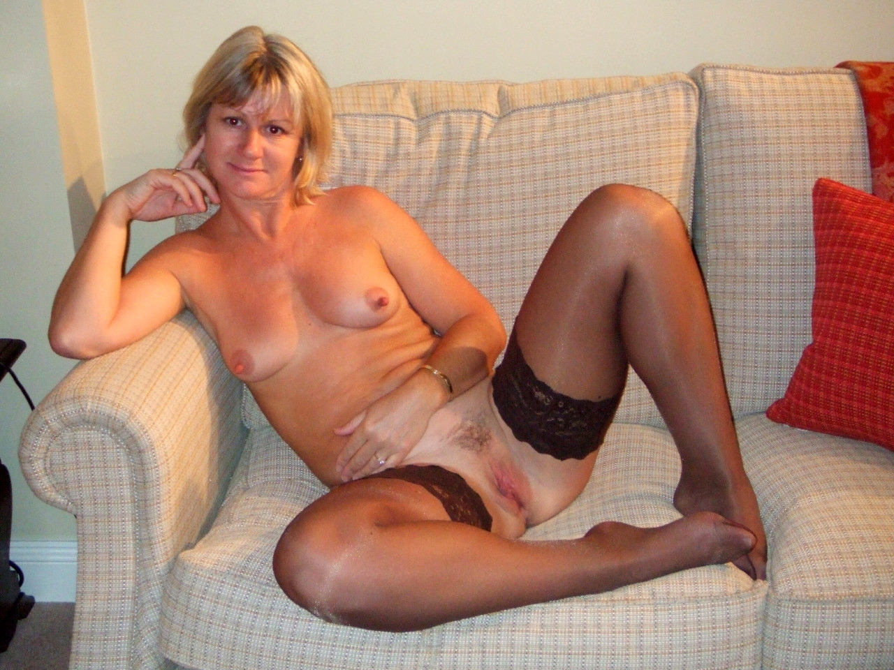 Hairy Mature Amateur Wife