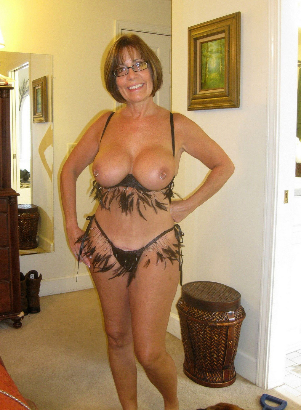 Amateur Mature Hairy Pussy